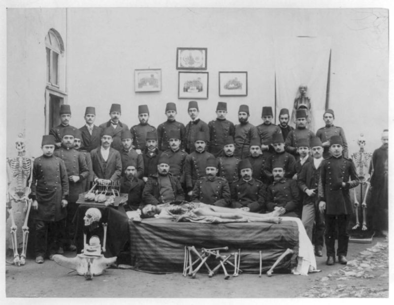 Figure. Medical school in 19th-century Ottoman Empire