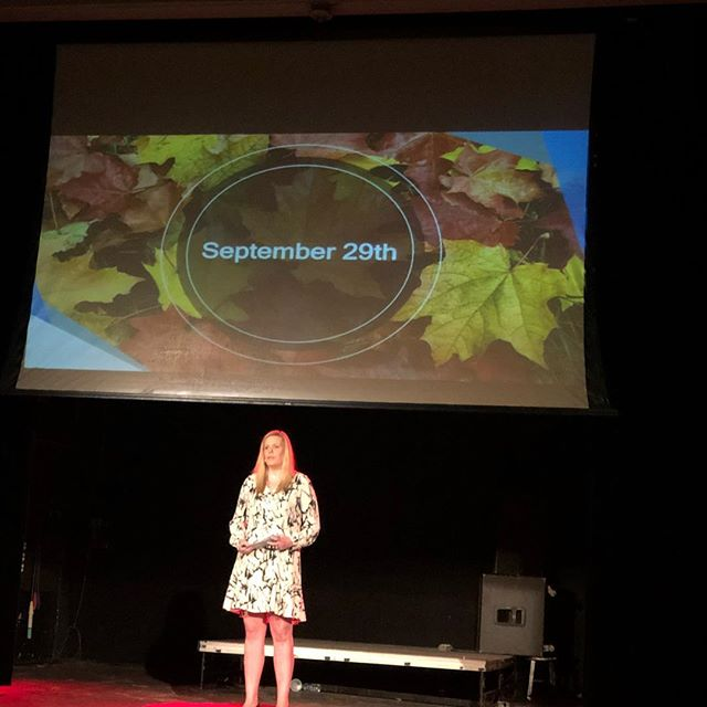 Discover the significance of September 29. Prepare to be riveted as @lindseyanneboggs graces you with her powerful Talk this Saturday . . . . #tedxraleigh #raleighnc #downtownraleigh #tedxraleigh2018