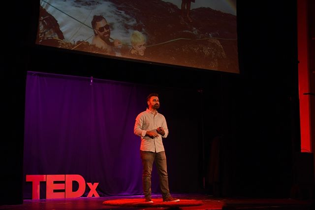 "Taking a year to travel the world with his wife, serial software founder (ShareFile, co-founder of  @HQraleigh and currently Founder and CEO of Real Magic) @jesselipson details a witty and soul searching path of vulnerability and insight into the human condition of both frailty and potential.  View ""My Year of Incompetence"" TEDxRaleigh Talk by Jesse Lipson. See link in bio. . . . . #tedxraleigh #tedx #downtownraleigh #raleighnc"