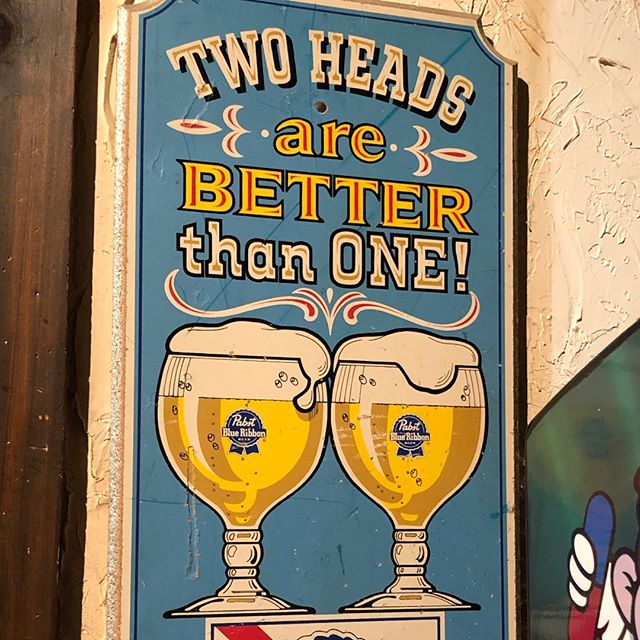 We tend to think so 🍻. Come grab a couple heads and watch the Spartans in the Sweet Sixteen tonight at 7:09.  #seeyoutatthepub #mitchellstmoose #pbr #sweetsixteen #marchmadness #msubb #spartans #tgif #petoskey #nomi