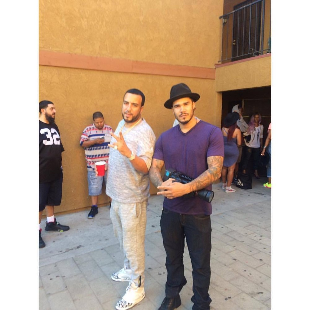French Montana and Michael Alston. (Picture provided by Michael Alston)