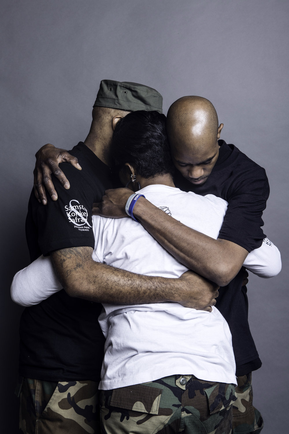 The Hamilton have made it through a lot of struggle by being there for one another. (Picture by Erik Ljung)