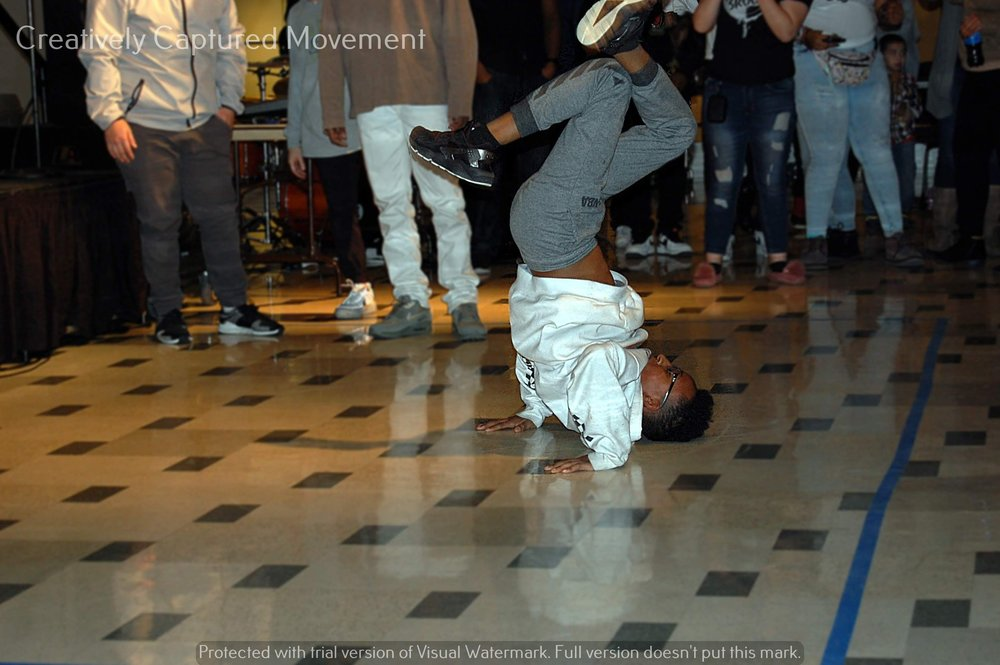 Throughout the event, dancers came and took over the floor, which encouraged the crowd to dance. (Picture provided by TRUE Skool)