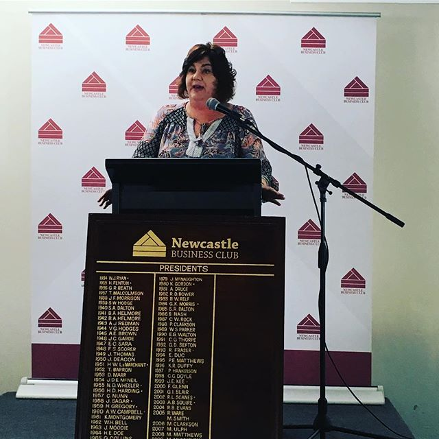 Define yourself and find your perfect customer match. While some customers will flirt and share a drink with you, you want customers who will stay with you.  Very insightful marketing advice from Lois Donaldson, GM of Marketing, Product and Business Development of local success story, @wineselectors .  #NewcastleBusinessClub #NewcastleBusinessClubLuncheon