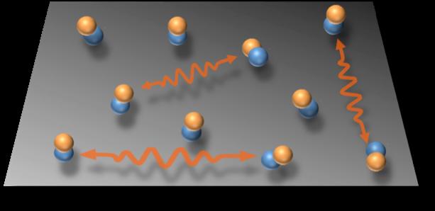 Quantum dipolar spin liquid