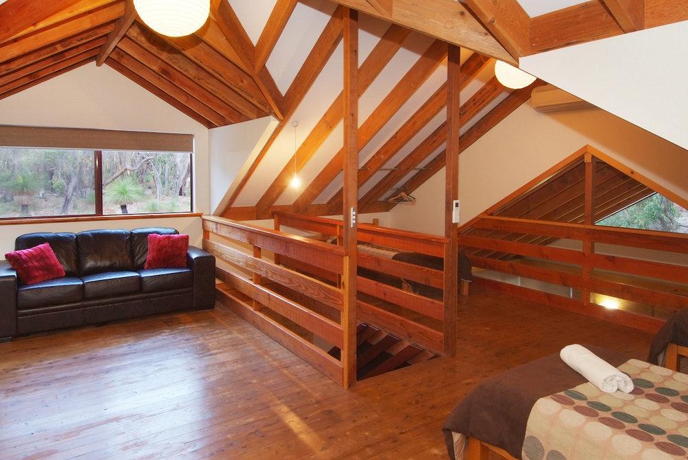 Goanna loft area.JPG
