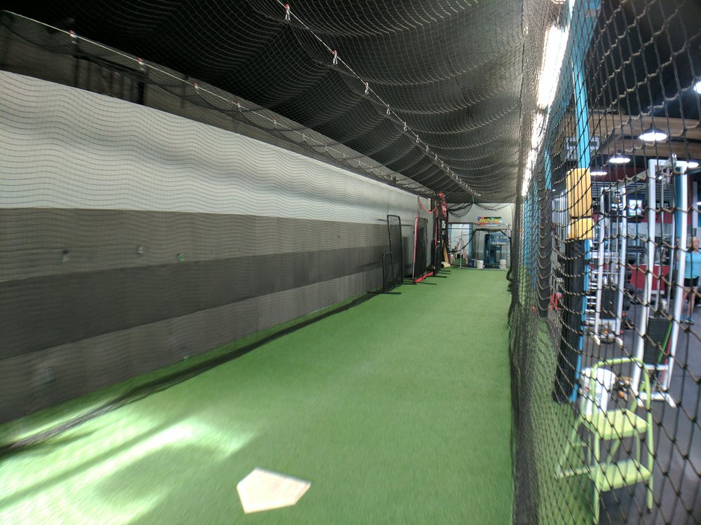 70ft Front Batting Cage