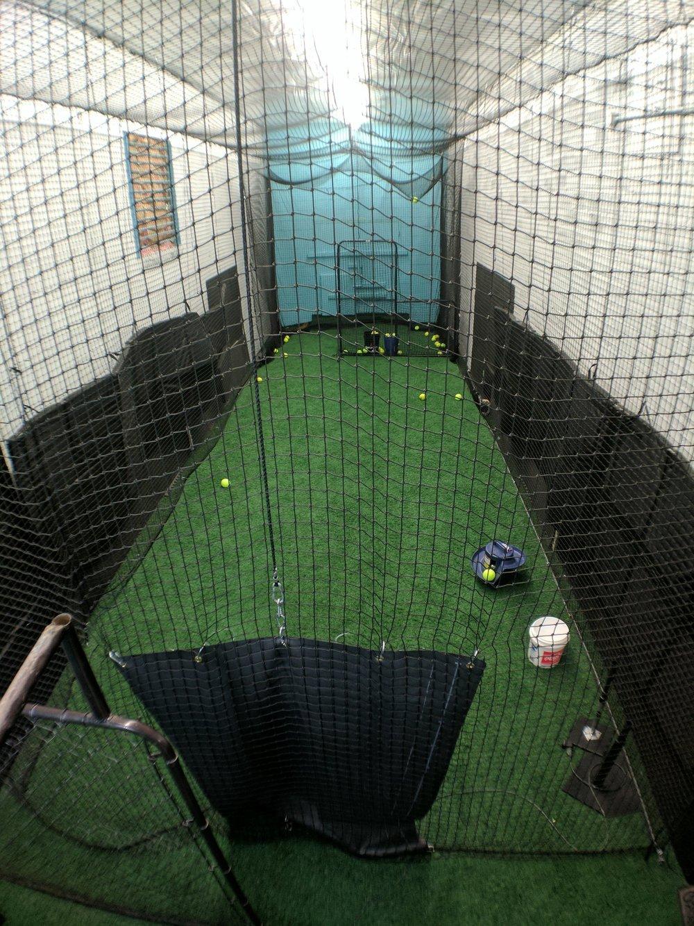 Back 35ft Cage