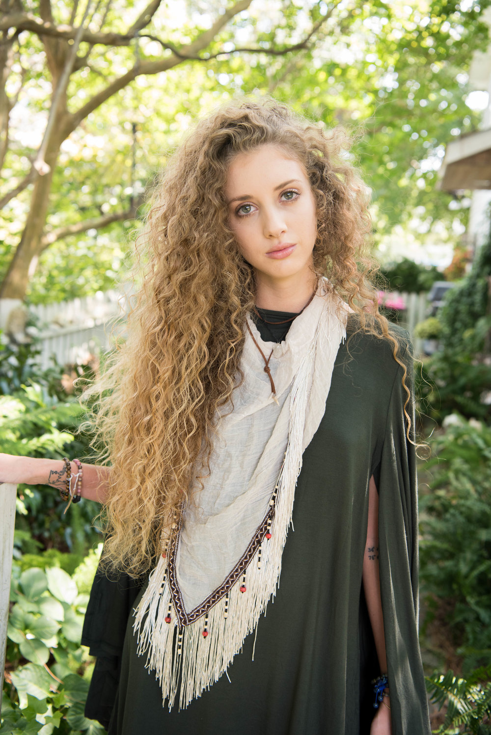 Shop the Abalone Dress  here   and the Eclipse Scarf  here