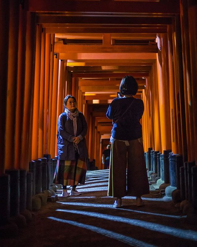 Fushimi Inari is magic at night, when purple shadows stretch long between red torii. /// #plethoraetc ________________________________________________ . . . . . #canoneos #icu_japan #instapassport  #theglobewanderer #visualmobs #igersjp #travelog  #canonphotos #aroundtheworldpix #ig_masterpiece #flashesofdelight #visualmobs  #campinassp #forahappymoment  #campinassp #theglobewanderer #travelog #aroundtheworldpix #instapassport #exploringtheglobe #canonrebel #ig_masterpiece #ig_japan #flashesofdelight #canonphotographer #kyoto #japantrip #fushimiinari #fushimiinaritaisha #fushimiinarishrine #kyotojapan #fushimiinaritaishashrine #ふしみいなりたいしゃ #伏見稲荷大社 #shinto #shintoshrine