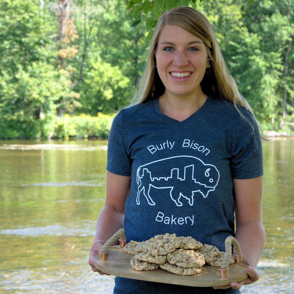 Hi, I'm Nicole from the Burly Bison Bakery, healthy bakery in Grand Rapids, Michigan