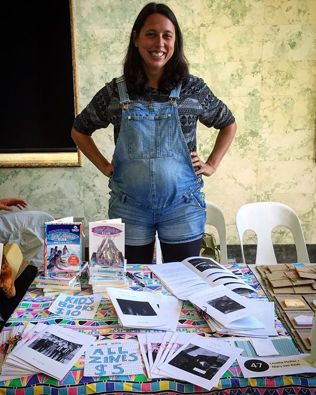 Come find me at the #mcazinefair today, featuring new #zines 'My Turkey Baster Family', 'Houses in Linden I Broke Into As A Kid' and a new 'Helen We Could Live Here' 👋🏾🤓✒️📓