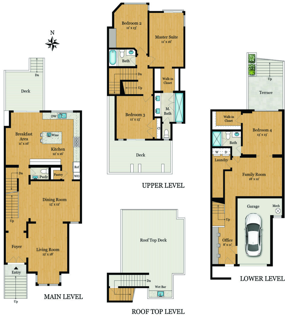 3984 20th St - Floorplan
