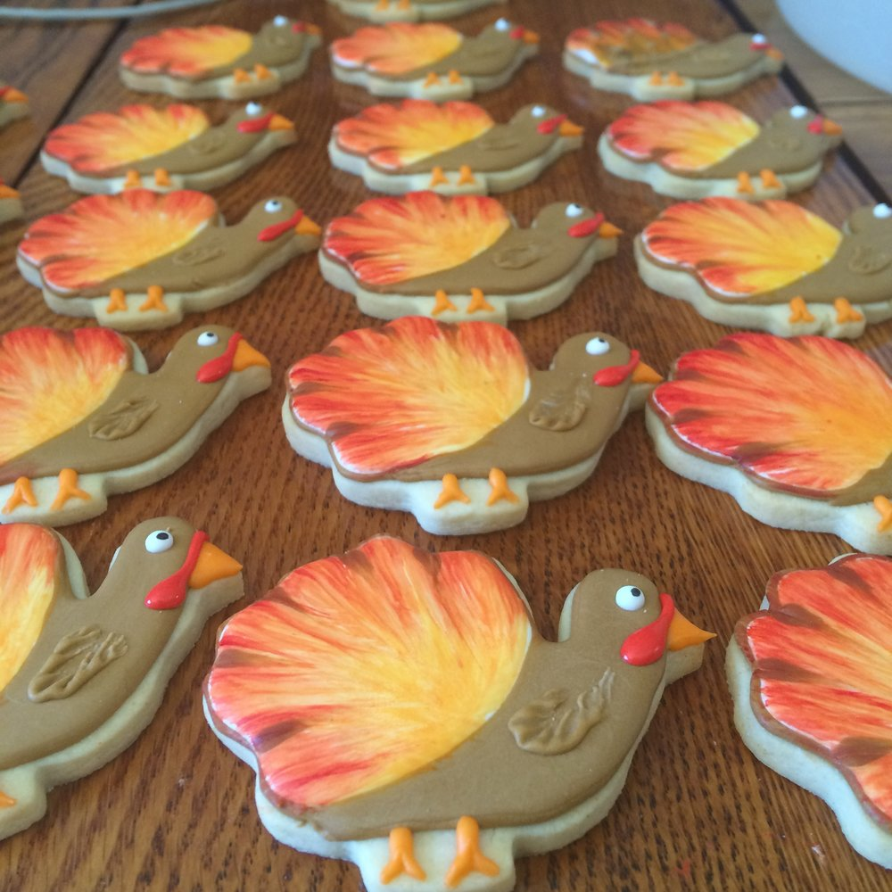 Turkey Cookies by Seed Confections