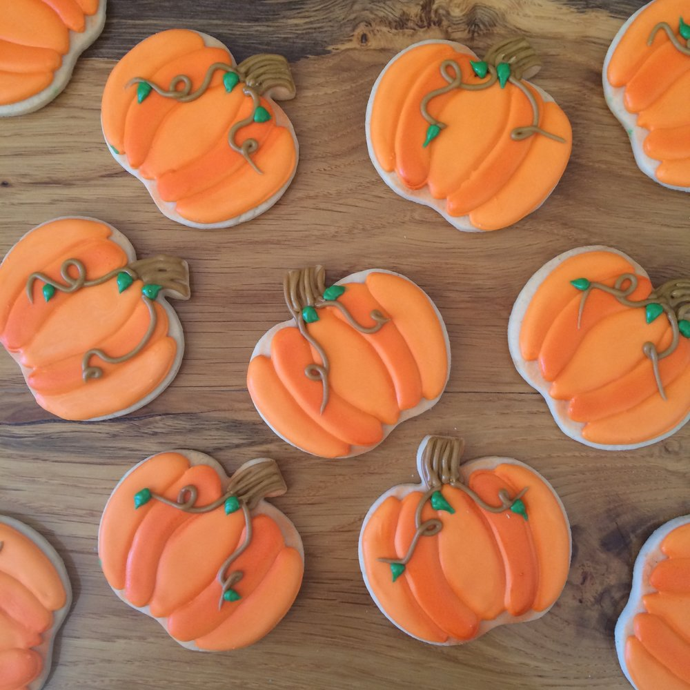 Pumpkin Cookies by Seed Confections
