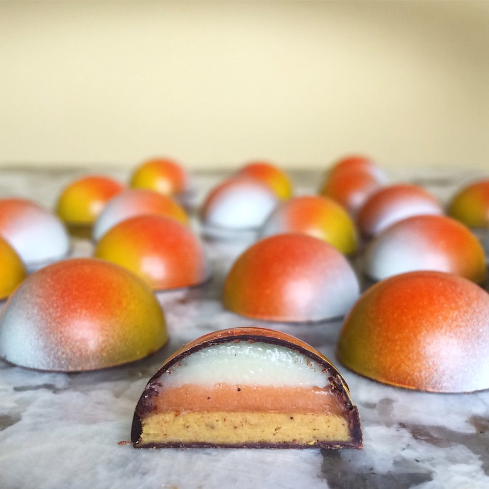 Pumpkin Spice Chocolates by Seed Confections