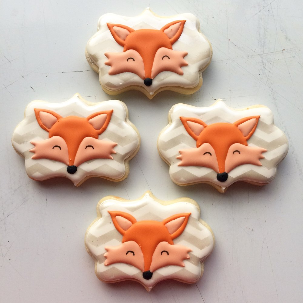 Fox Cookies by Seed Confections