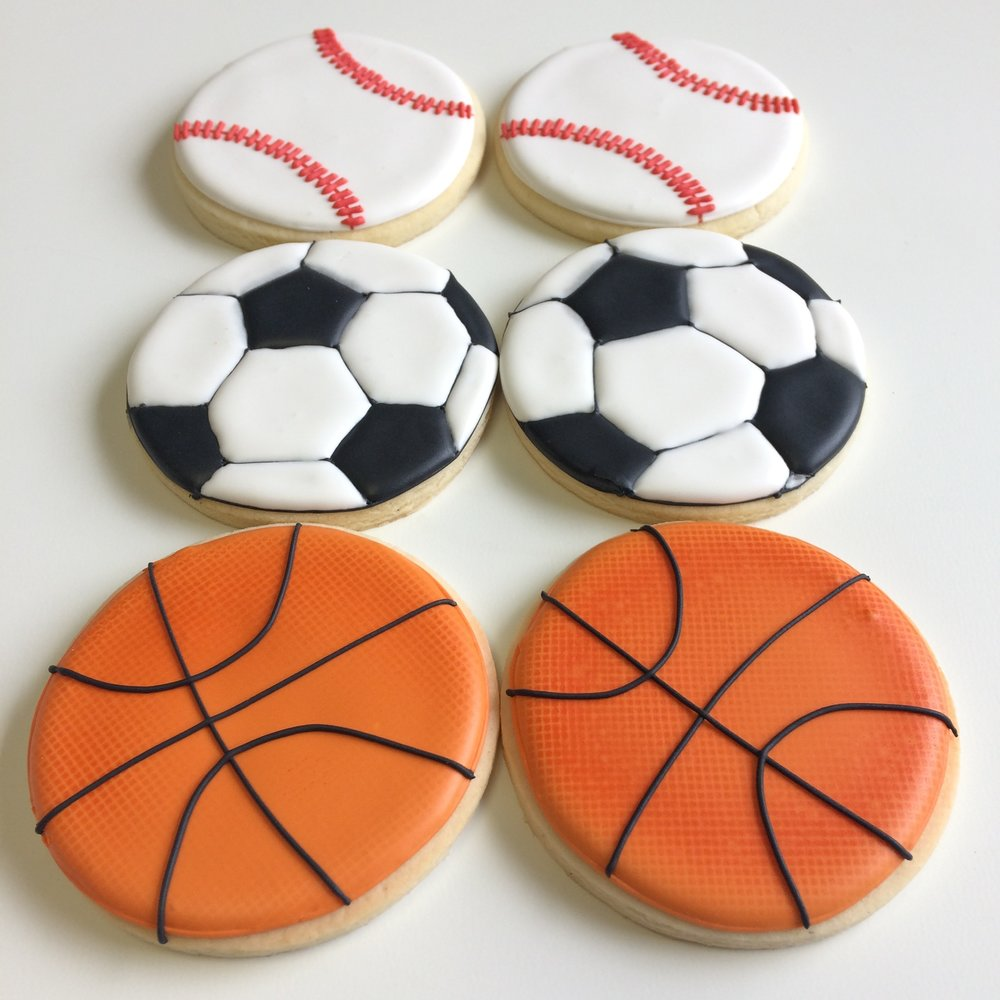 Sports cookies by Seed Confections
