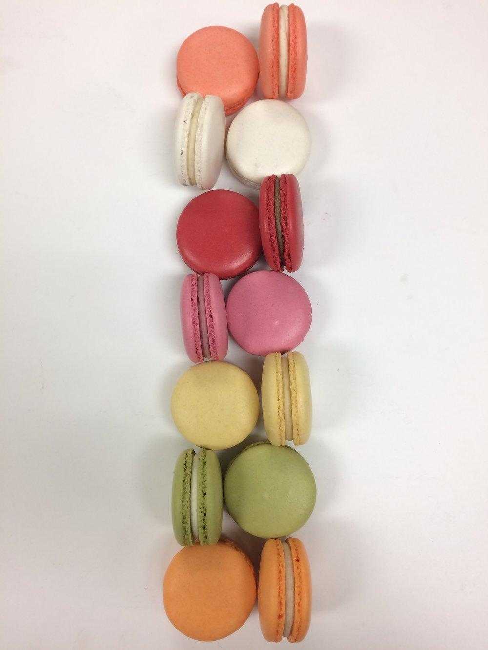 fall macarons