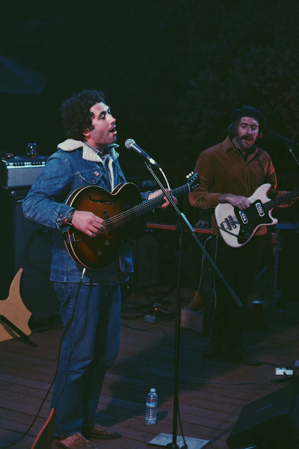 Miles Michaud & Spencer Dunham of Allah-Las  Photo by Drew Walker