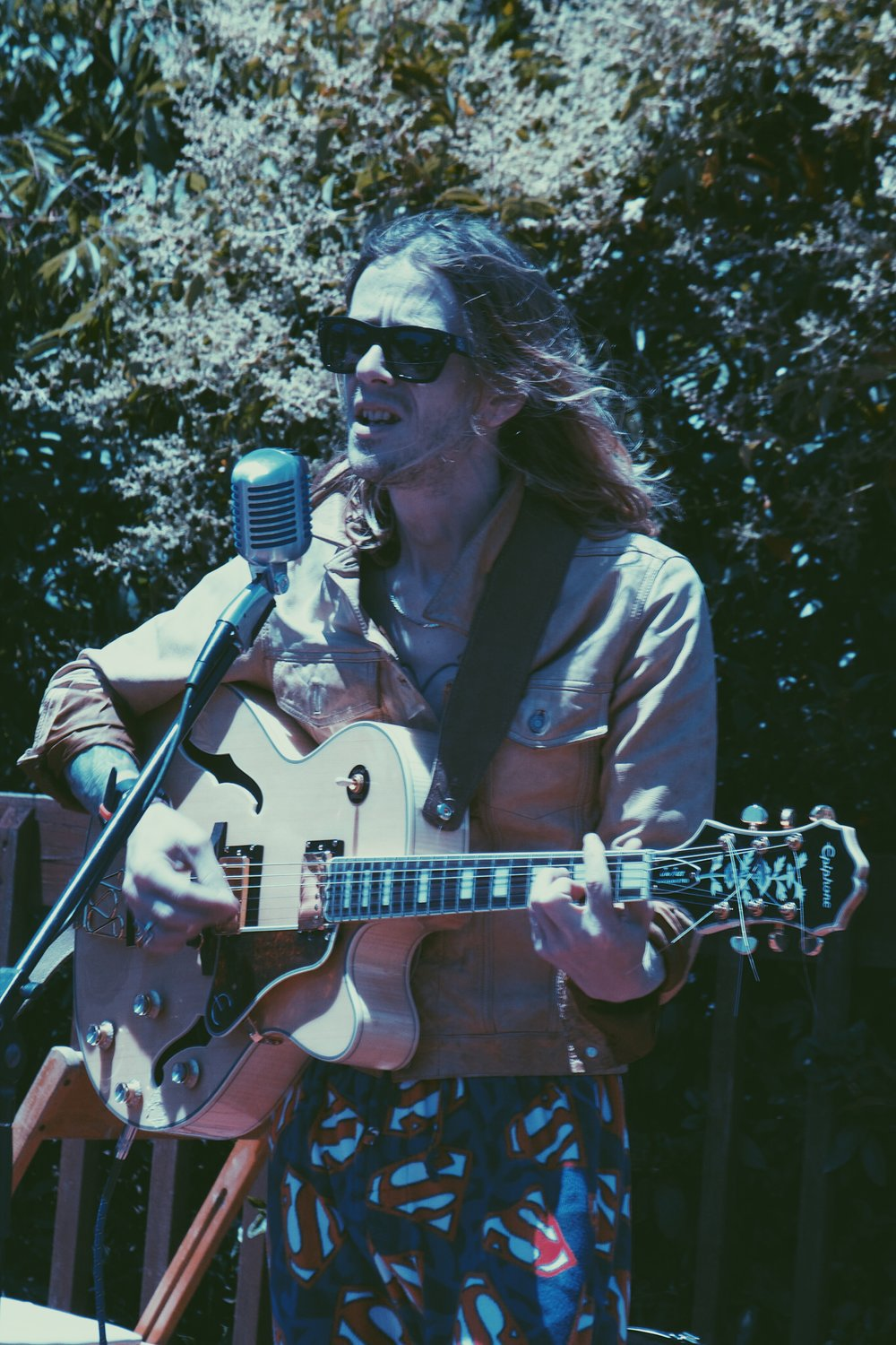 Christopher Owens of Curls  Photo by Drew Walker