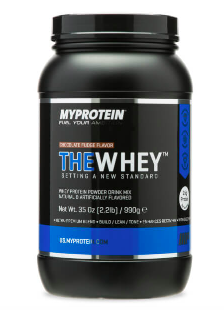 The Whey Protein Powder - I personally love this protein because