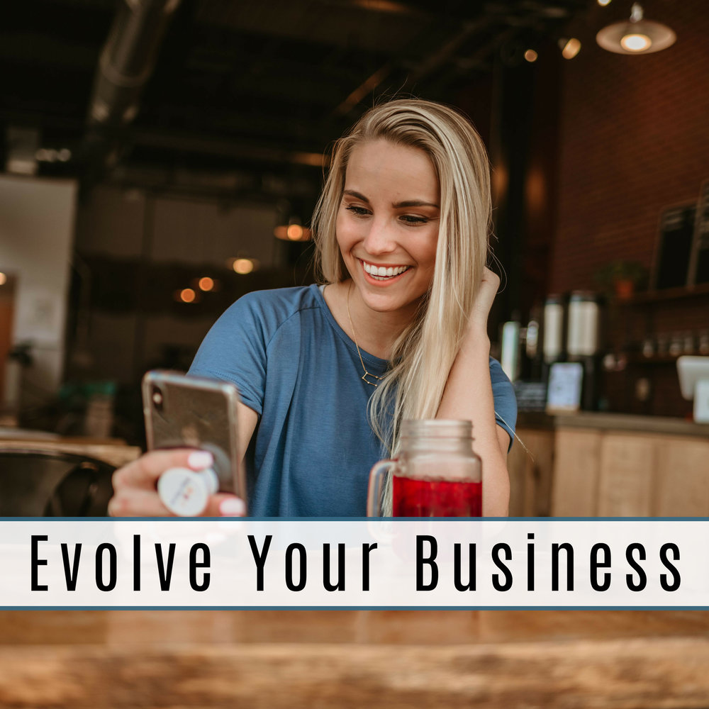evolve your business course taught by gabby male