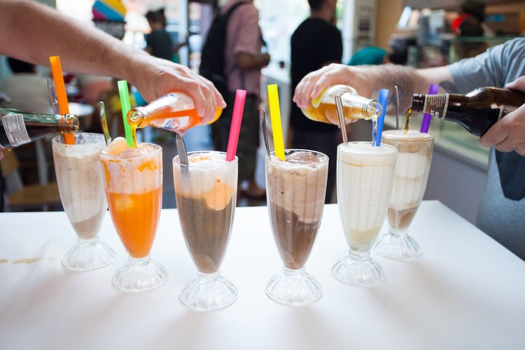 Big Gay Ice Cream floats, floats and more floats!