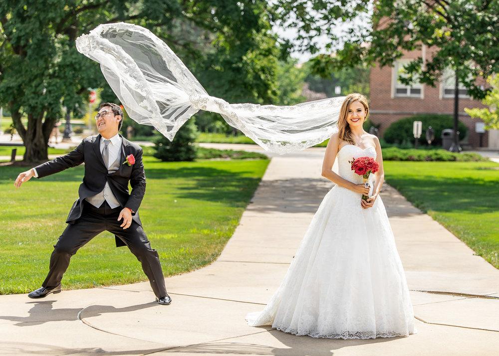 purdue memorial union wedding photographer photography lafayette indiana st. thomas aquinas