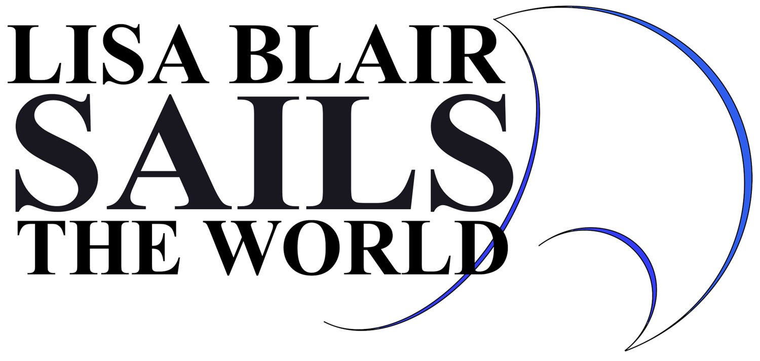Lisa Blair Sails the World