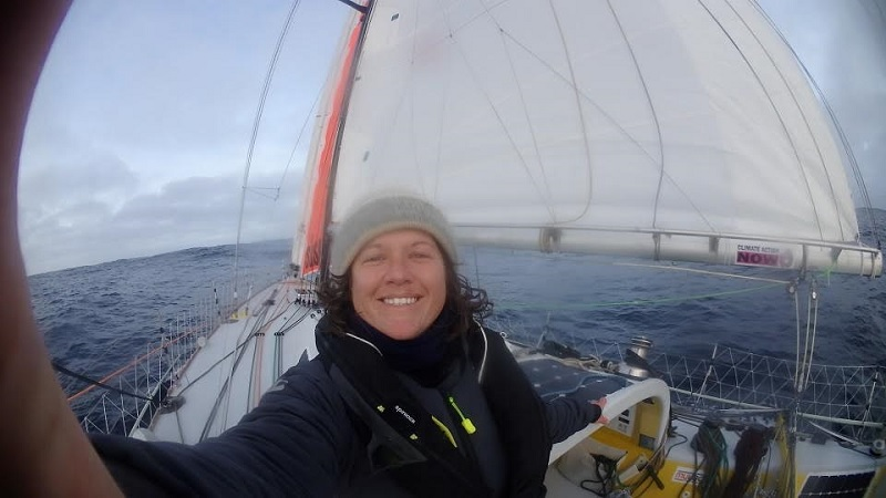 Cruising in the Southern Ocean with Full Main