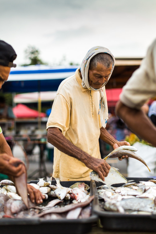 Market in Langkawi, Malaysia