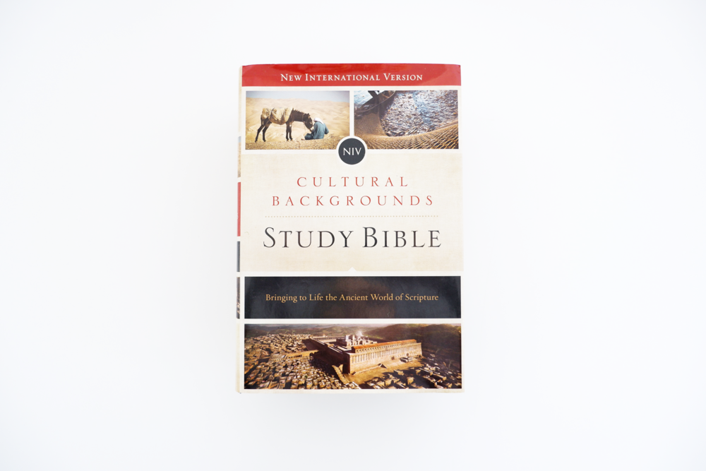 cultural backgrounds study bible -