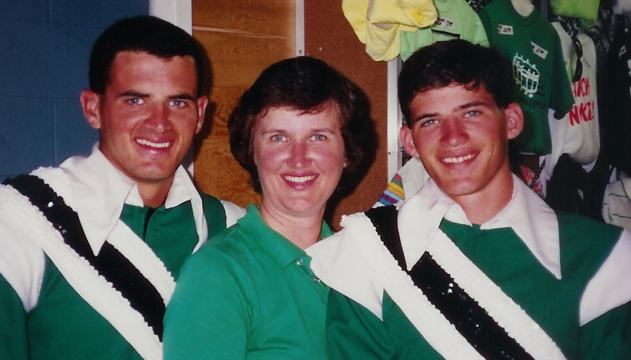 Chris, Marcia, and Jeff Kissamis – 1990