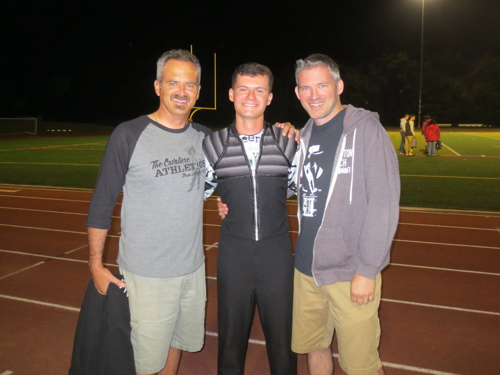 Chris, Andrew, and Jeff Kissamis – 2016