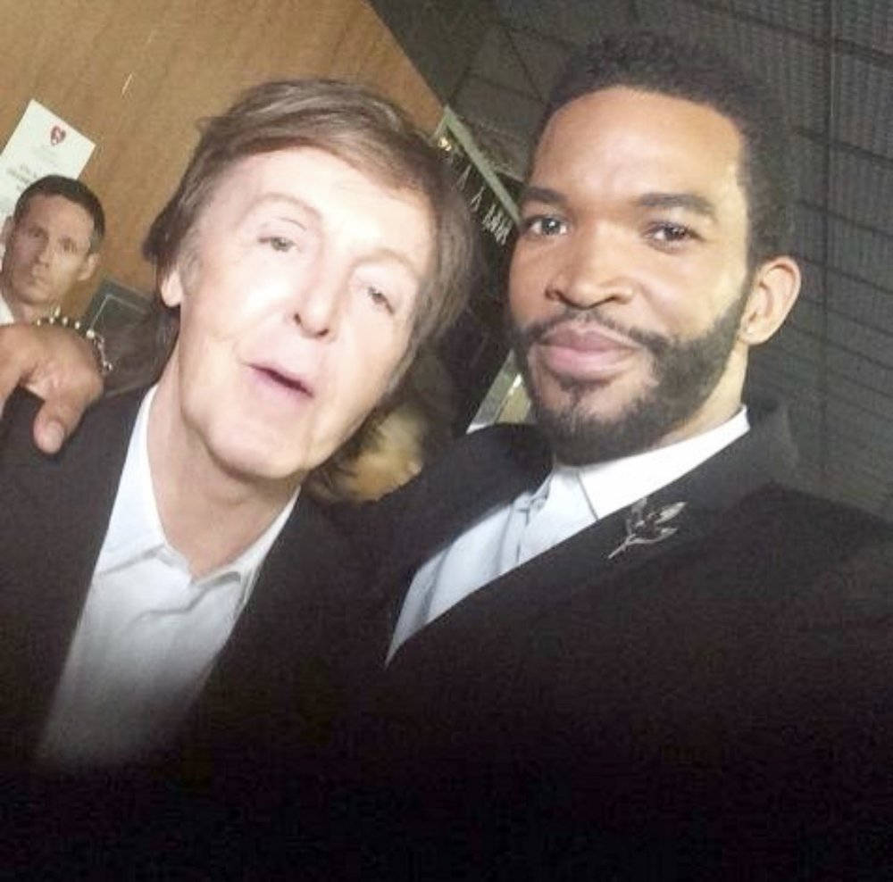 Hanging w/ Sir Paul McCartney @57thGrammyAwards