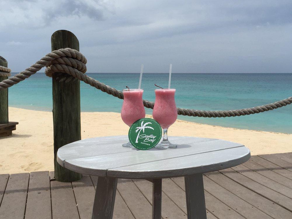 Wanderlust-blog-Galley-Bay-drinks