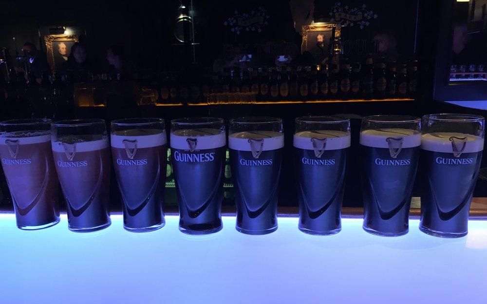 Wanderlust-blog-Guinness-Storehouse-Connoisseur-perfect-pour