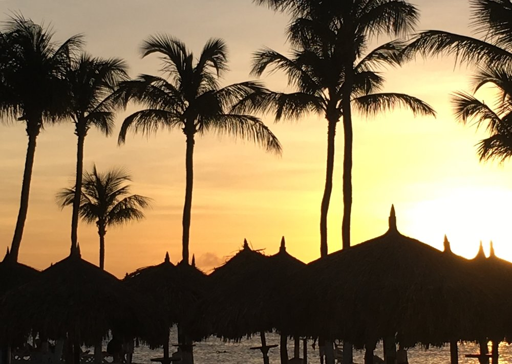 Wanderlust-blog-Aruba-sunset