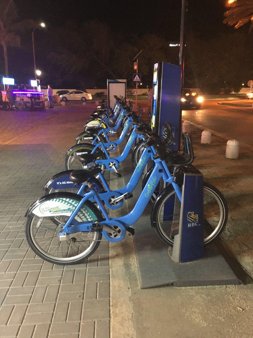 Wanderlust-blog-Aruba-sustainability-green-bikes