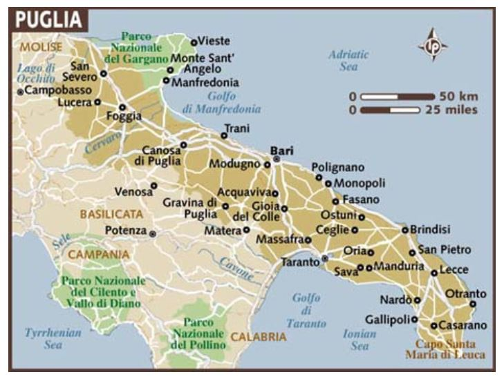 Wanderlust-Travel-blog-Southern-Italy-map
