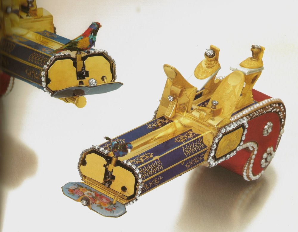 Singing bird pistols - These singing bird pistols were previously handled by our company that was later sold at Christie's. They were sold for $5,866,499 in auction on May 30, 2011, Hong Kong.