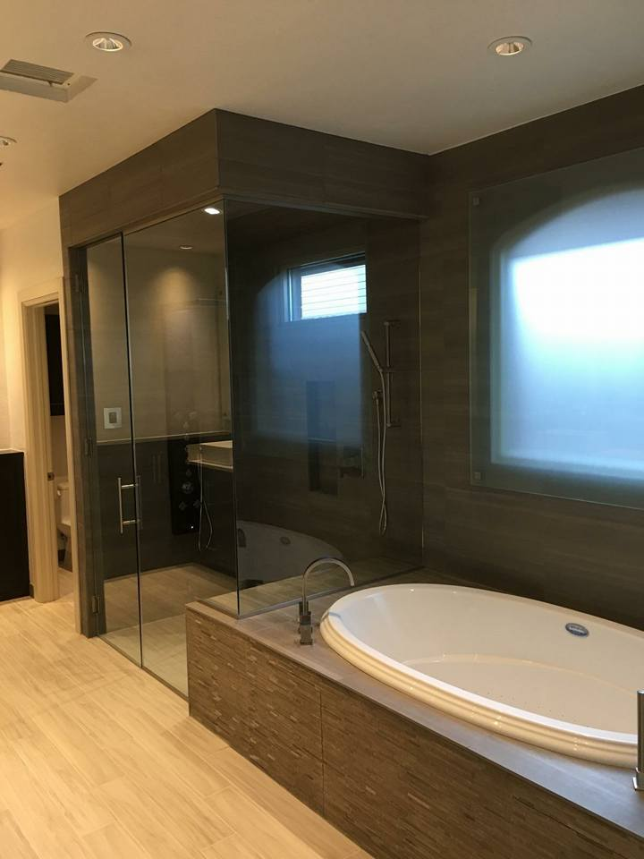 Another Amazing Client For A Karen Black Company To Work With! The Shower  Is A Steam Shower W/ An Infinity Drain. Notice The Same Floor In The Shower  ...