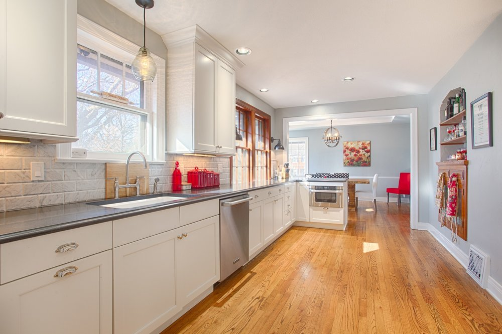 Historic Transitional Kitchen - Edgemere Park
