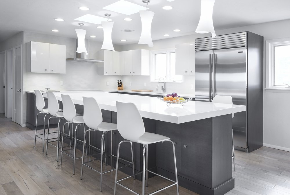 Mid-Century Modern Kitchen - Nichols Hills