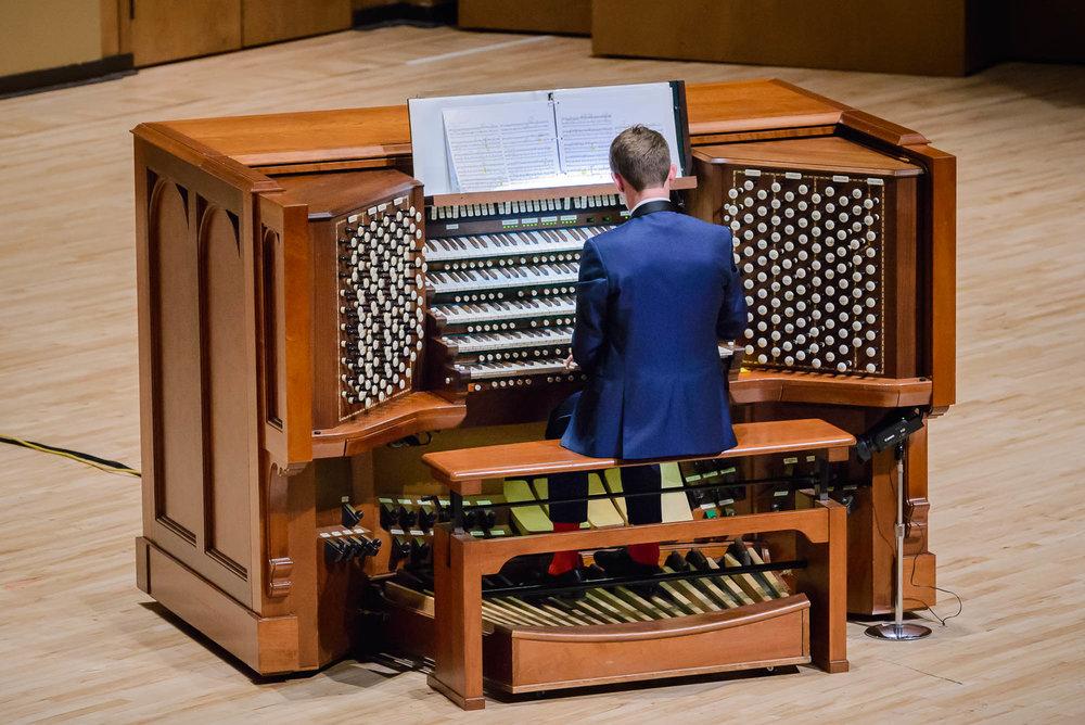 Kotzschmar Organ Recital Debut 2018