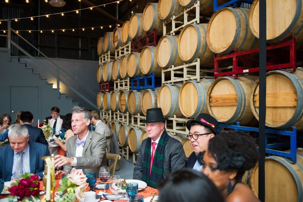 Corporate Holiday Party at The Winery SF