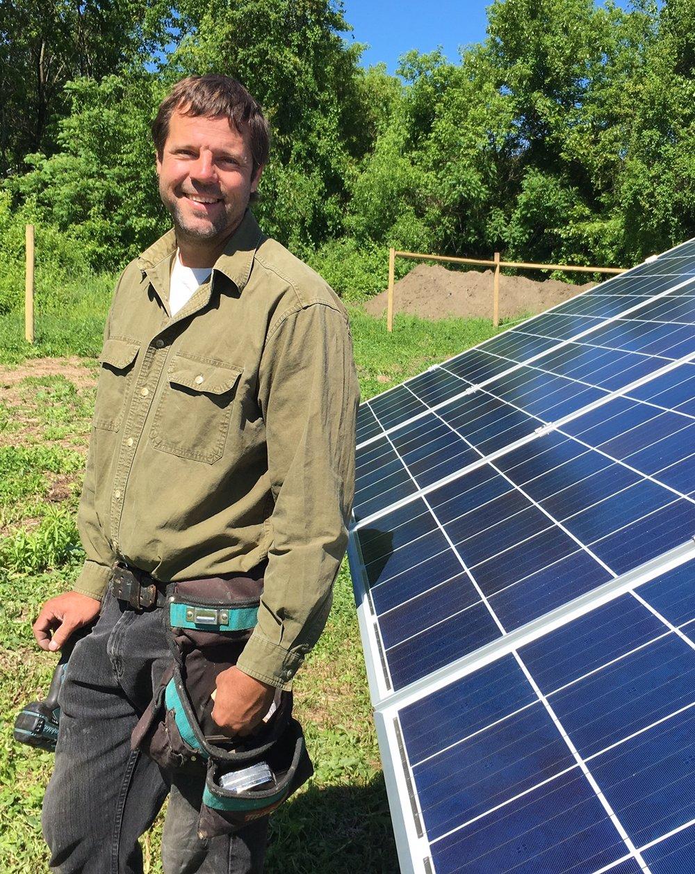 Simon Piluski, Co-owner of Southern Vermont Solar