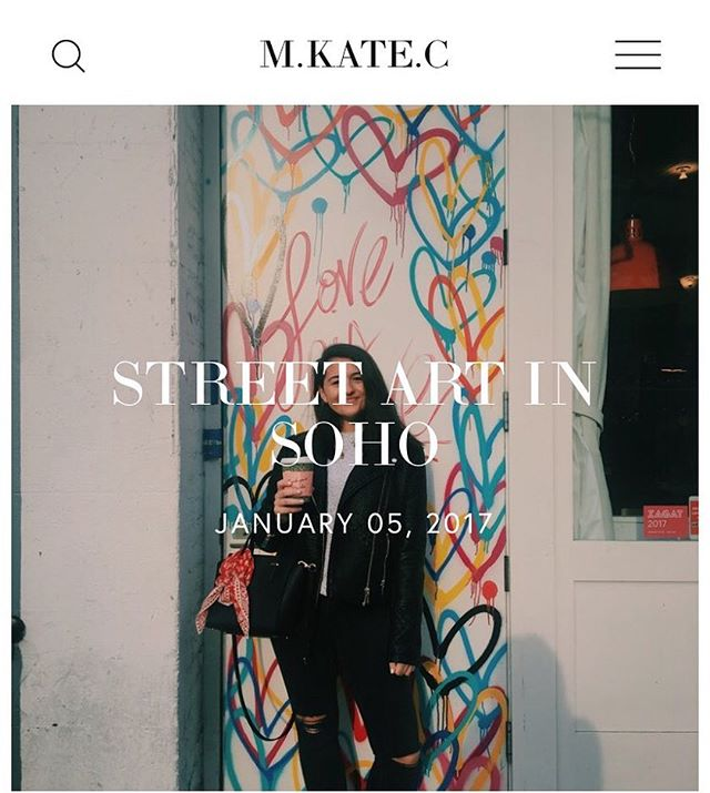 Check out the blog!  mkatec.com • • • • • #mkatec #blogger #lifestyle #fashion #soho #styleblogger #creativelifehappylife