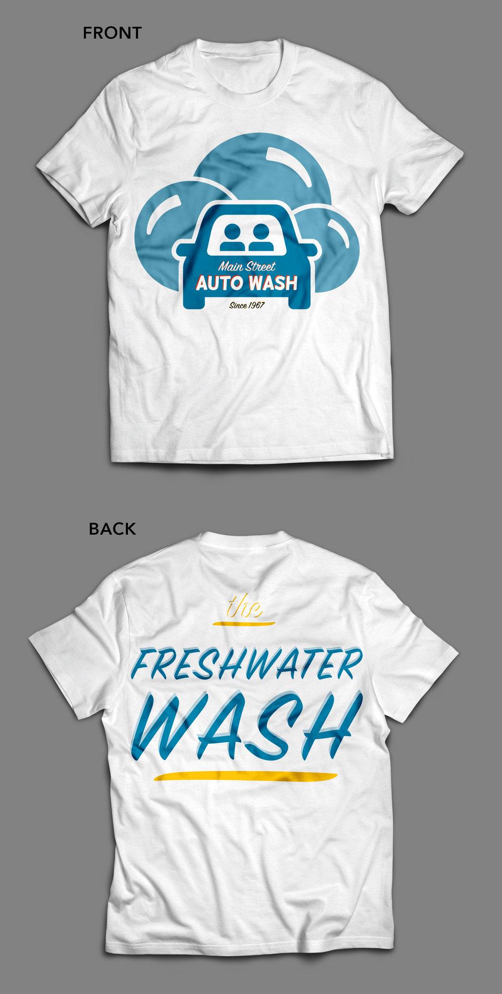 Main Street Auto Wash — Pretty Nifty Visuals
